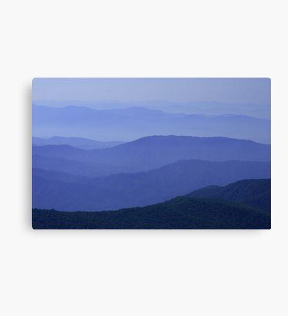 Great Iron Mountains Canvas Print