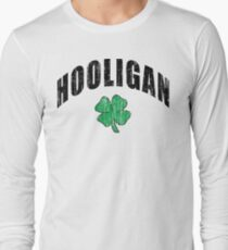 "Irish ""Hooligan"" Long Sleeve T-Shirt"