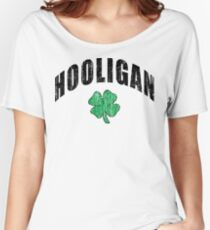 "Irish ""Hooligan"" Women's Relaxed Fit T-Shirt"