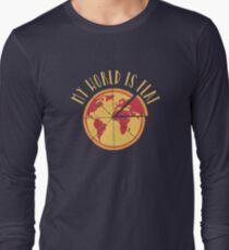 My World Is Flat Long Sleeve T-Shirt