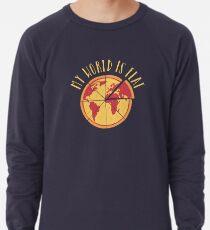 My World Is Flat Lightweight Sweatshirt