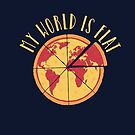 My World Is Flat by DinoMike