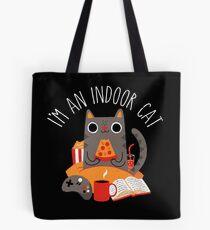 Indoor Cat Tote Bag