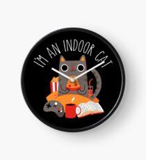 Indoor Cat Clock