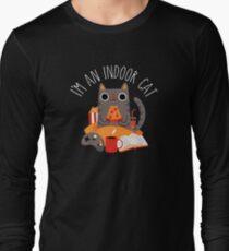 Indoor Cat Long Sleeve T-Shirt