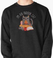 Indoor Cat Pullover Sweatshirt