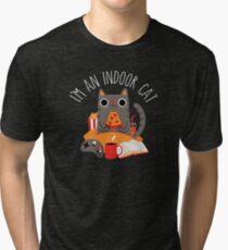 Indoor Cat Tri-blend T-Shirt