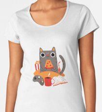 Indoor Cat Premium Scoop T-Shirt