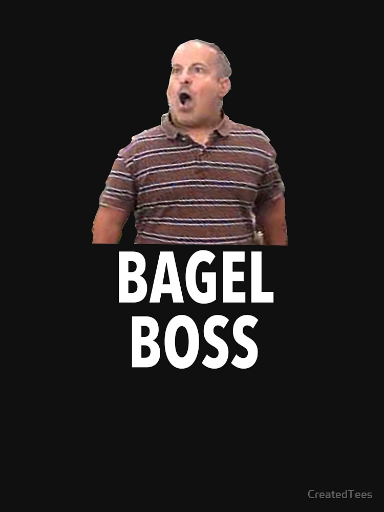 Bagel Boss Funny T Shirt by CreatedTees