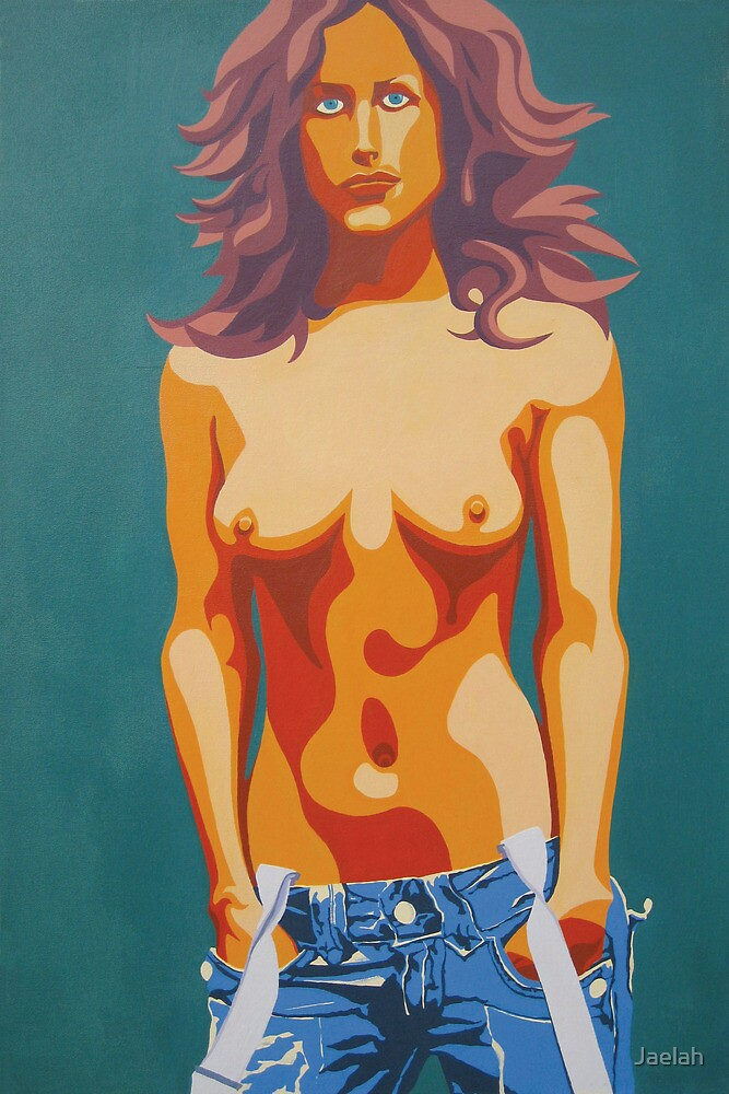 Topless Lady by Jaelah