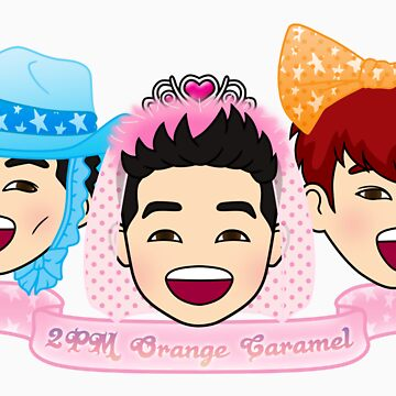 2PM Orange Caramel by funkmunky