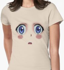 Anime Turmoil! Womens Fitted T-Shirt