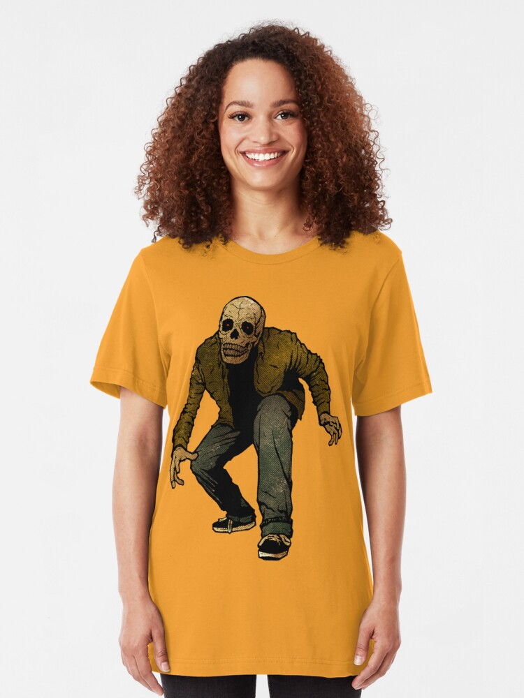 Alternate view of Skullboy Returns To F--- Your S--- Up! Slim Fit T-Shirt