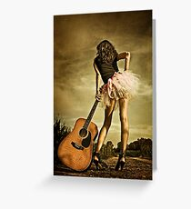 The Long Road To Nashville Greeting Card