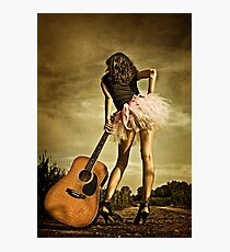 The Long Road To Nashville Photographic Print