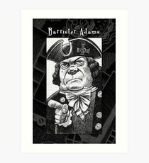 Barrister Adams Art Print