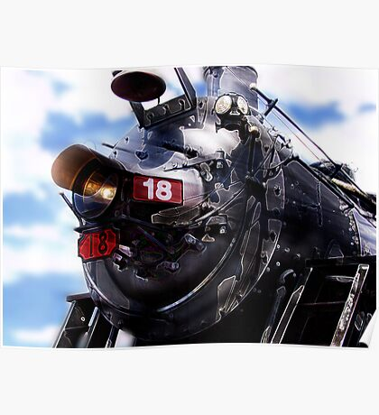 grand canyon steam locomotive Poster