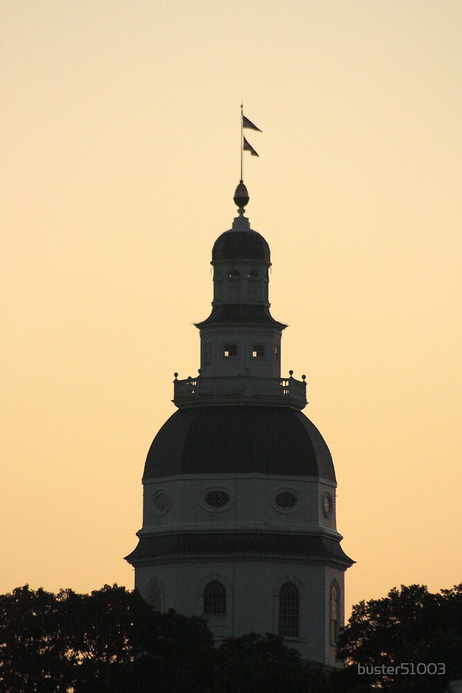 Annapolis at Dusk by buster51003