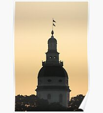 Annapolis at Dusk Poster
