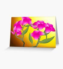 Ravishing beauty of flowers Greeting Card