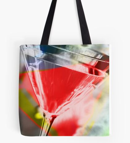 martini red Tote Bag