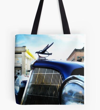 old blue car Tote Bag