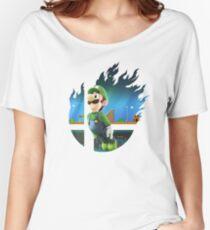 Smash Hype - Luigi Women's Relaxed Fit T-Shirt
