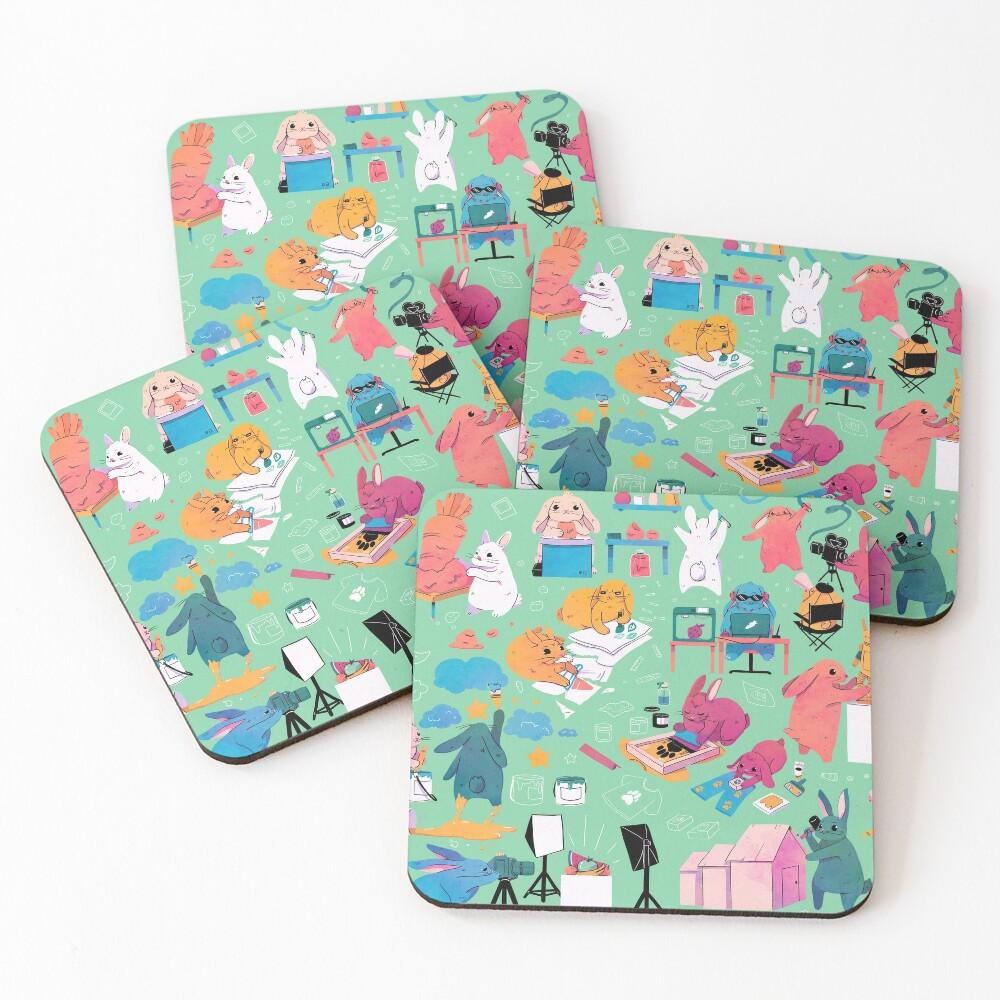 Artbuns Coasters (Set of 4)