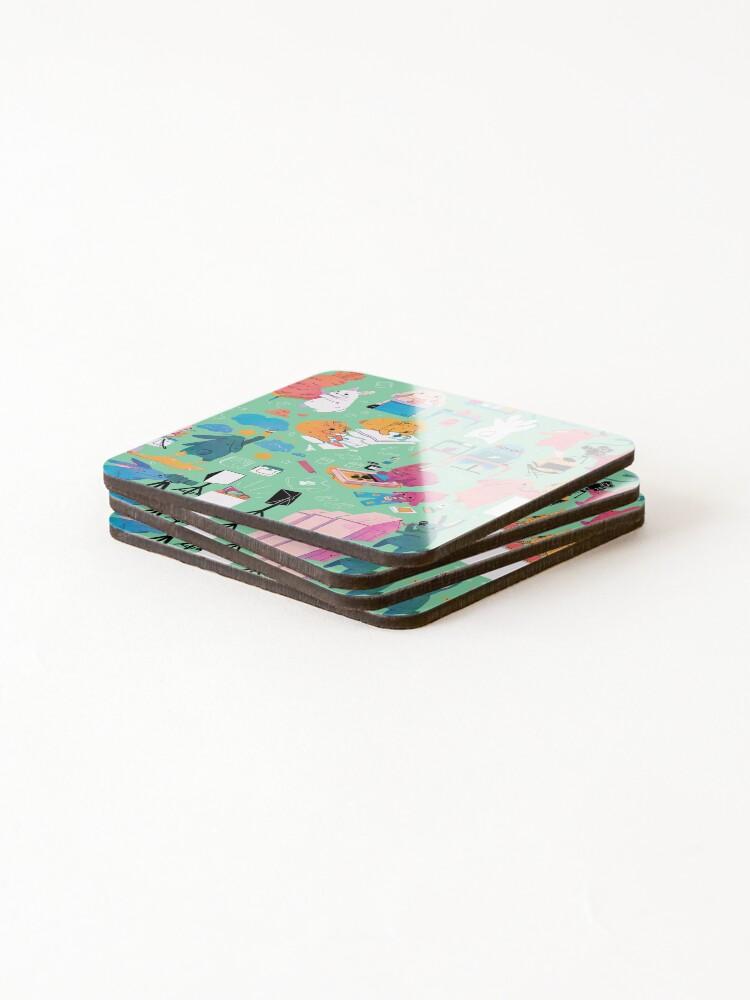 Alternate view of Artbuns Coasters (Set of 4)