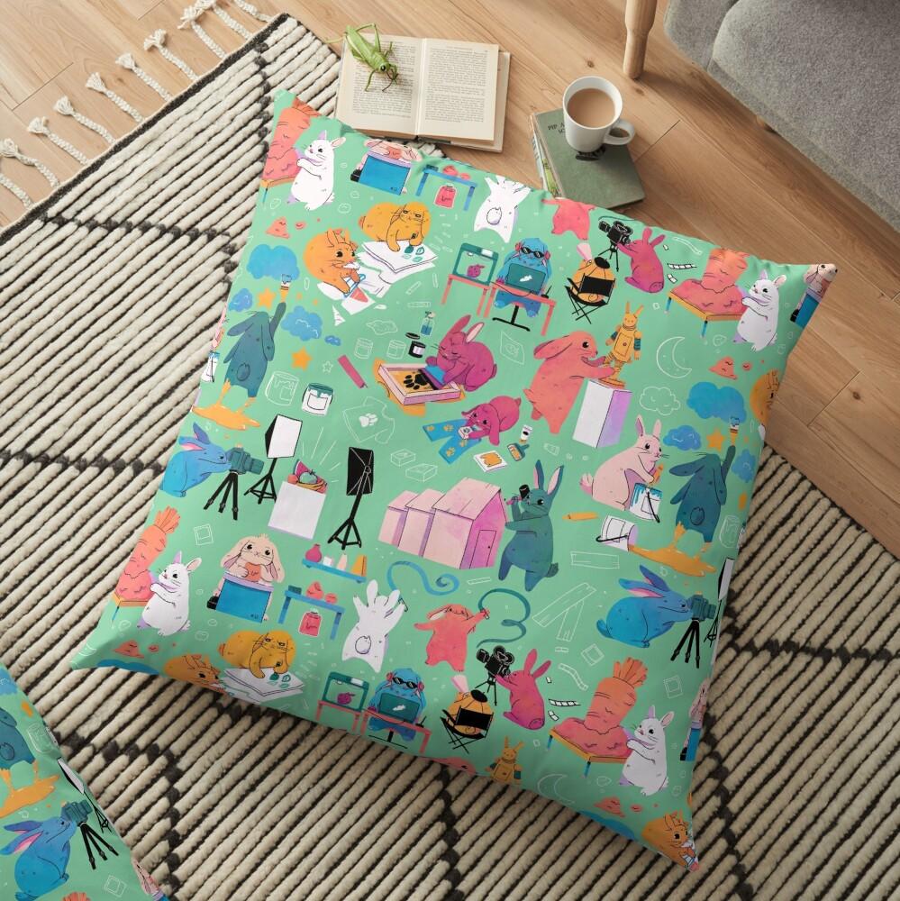 Artbuns Floor Pillow