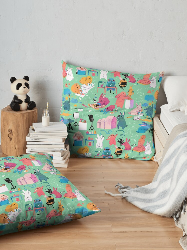 Alternate view of Artbuns Floor Pillow