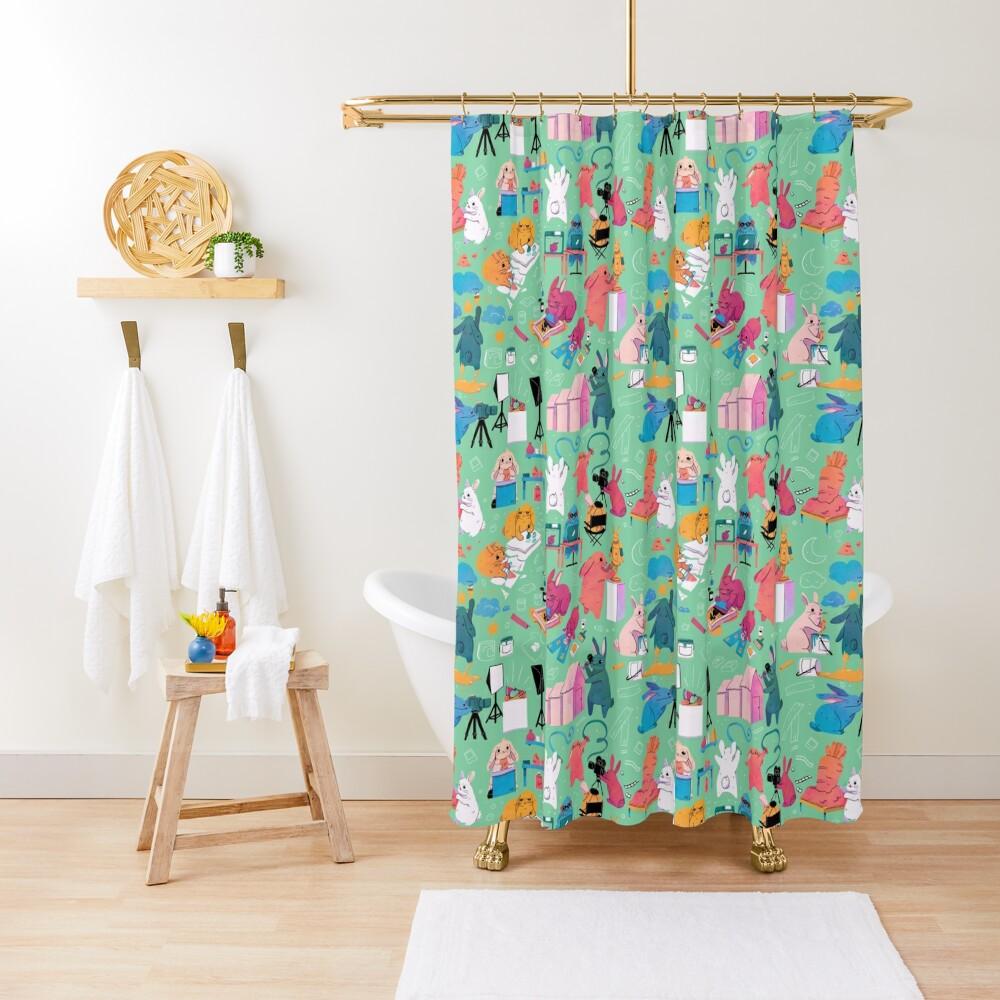 Artbuns Shower Curtain