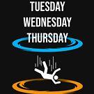 Montag Dienstag Mittwoch Donnerstag BLINK Montag von SxedioStudio