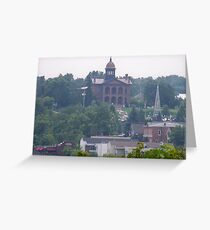 Hazey Day in Stillwater Greeting Card