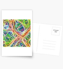 Neural network motif Postcards