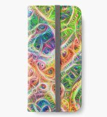 Neural network motif iPhone Wallet/Case/Skin