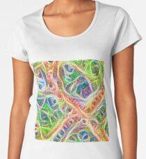 Neural network motif Premium Scoop T-Shirt