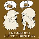 LIKE-MINDED COFFEE DRINKERS by RoseLangford
