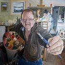 Self Portrait Finished by Ken Tregoning