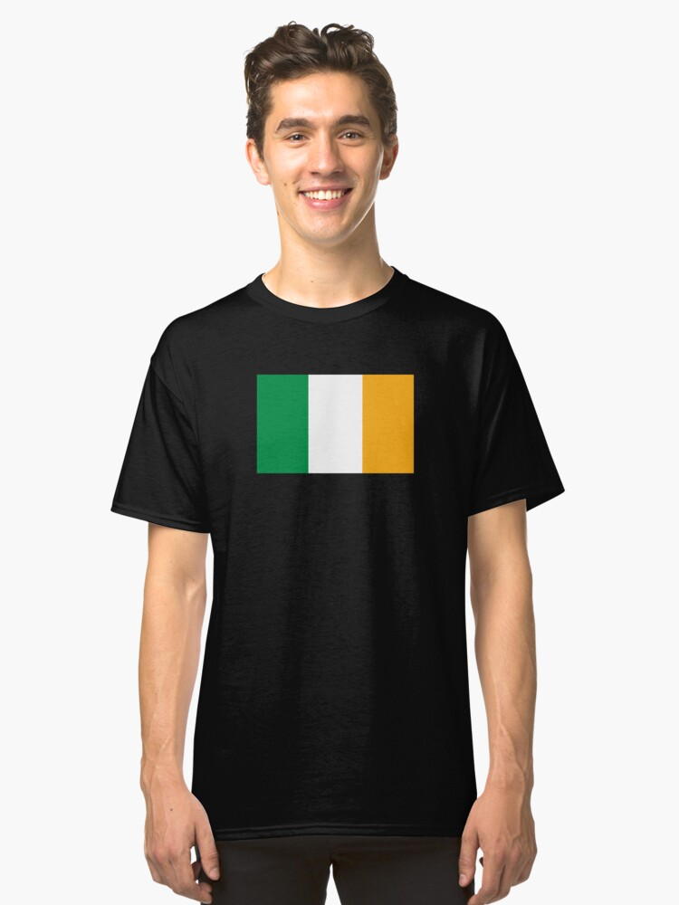 Ireland Flag Classic T-Shirt Front