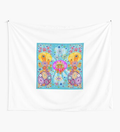 Retronautilus Wall Tapestry