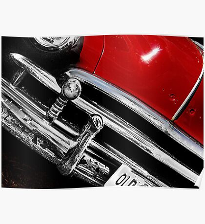 red car Poster