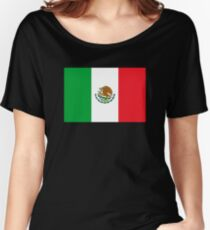 Mexico Flag Mexican Flag Women's Relaxed Fit T-Shirt