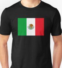 Mexico Flag Mexican Flag Unisex T-Shirt