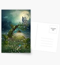 Keeper of the Enchanted - Spring Thaw Postcards