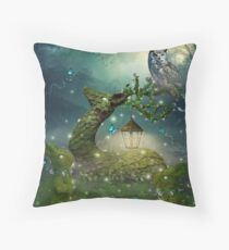 Keeper of the Enchanted - Spring Thaw Throw Pillow