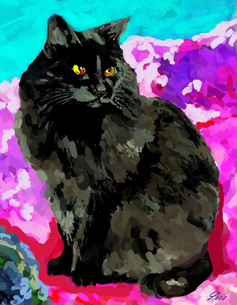 My Black Cat by irisgrover