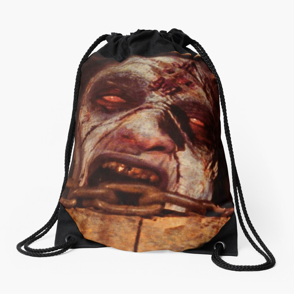Posesion Infernal Basement  Drawstring Bag