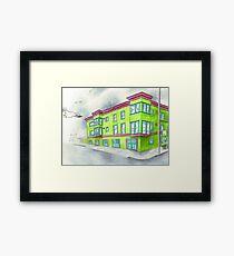 """""""A Beacon in the Fog"""" Framed Print"""