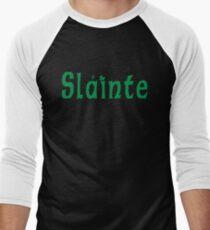 Slainte Men's Baseball ¾ T-Shirt